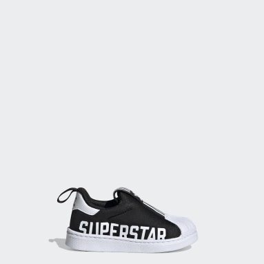 Kids Originals Black Superstar 360 X Shoes
