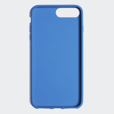 Coque Basic Logo iPhone 8+ Bleu Originals