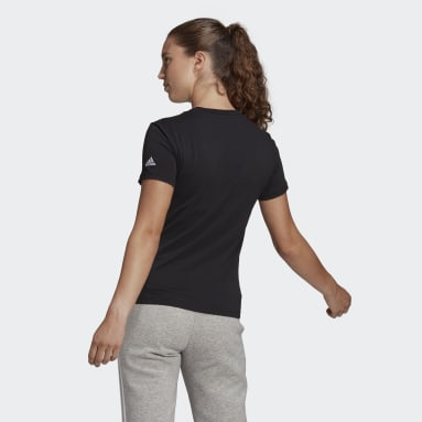 Essentials Slim Logo Tee Czerń