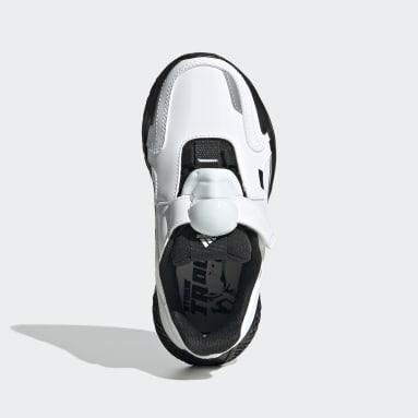 เด็ก เทรนนิง สีขาว รองเท้า Star Wars 4uture RNR