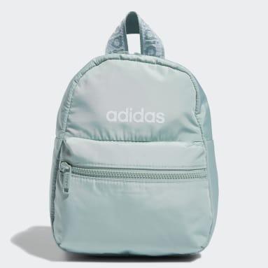 Women's Training Green Linear Mini Backpack