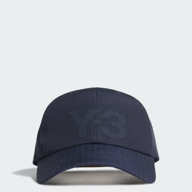Y-3 Blå Y-3 Ripstop kasket