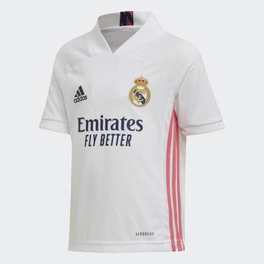 Deti Futbal biela Mini súprava Real Madrid 20/21 Home