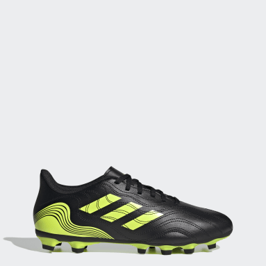 ผู้ชาย ฟุตบอล สีดำ รองเท้าฟุตบอล Copa Sense.4 Flexible Ground