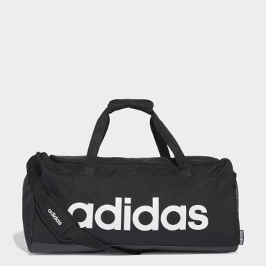 Cricket Black Linear Duffel Bag