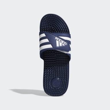 ว่ายน้ำ สีน้ำเงิน รองเท้าแตะ Adissage