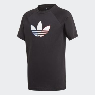 Camiseta Adicolor Graphic Negro Niño Originals