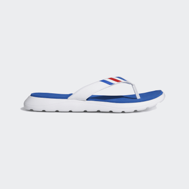 Men Swimming White Comfort Flip-Flops