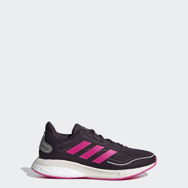 Youth Running Purple Supernova Running Shoes