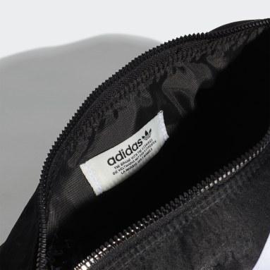 ผู้หญิง Originals สีดำ กระเป๋าดัฟเฟิลไนลอนใบจิ๋ว