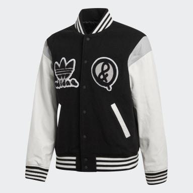 Men Originals Black UA&SONS Varsity Jacket