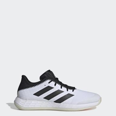 Sapatos de Andebol Adizero Fastcourt Branco Homem Netball
