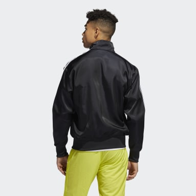 Men's Originals Black Satin Firebird Track Jacket