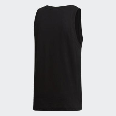 ผู้ชาย Originals สีดำ เสื้อกล้าม Trefoil