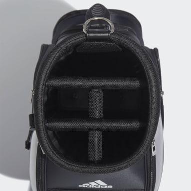 Men Golf Black Basic Caddie Bag