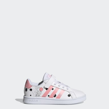 Chaussure Grand Court blanc Enfants Sport Inspired