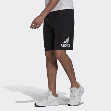 Men's Essentials Black adidas Essentials Fleece Big Logo Shorts