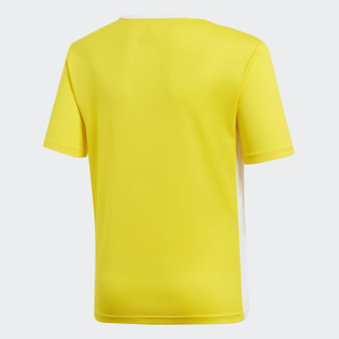 Youth Soccer Yellow Entrada Jersey