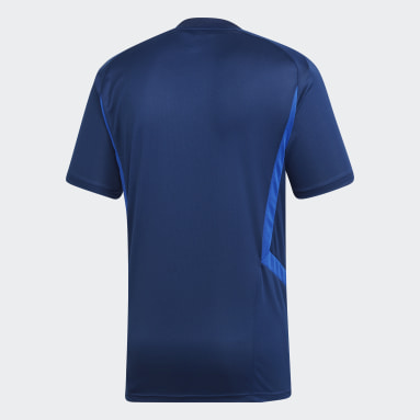 Männer Fitness & Training Tiro 19 Trainingstrikot Blau