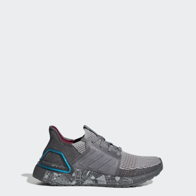 Chaussure Ultraboost 19 Star Wars gris Adolescents Course