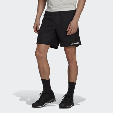 Men TERREX Black Terrex Primeblue Trail Running Shorts