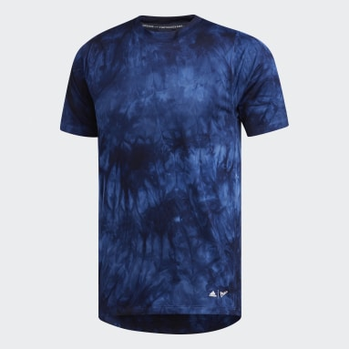 Heren Veld Hockey Blauw FreeLift Parley T-shirt