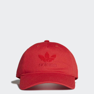 Originals Red Adicolor Dad Cap