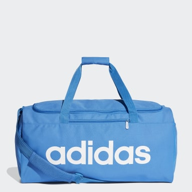 Sportswear Blue Linear Core Duffel Bag Medium