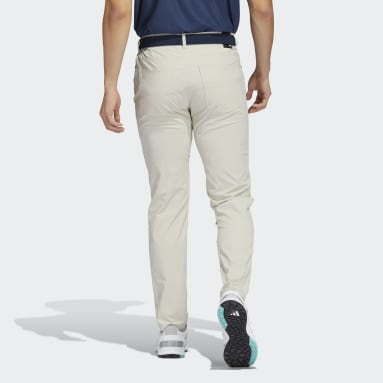 Men Golf Beige Go-To Five-Pocket Trousers
