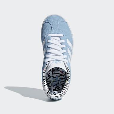 Tenis Gazelle Azul Niño Originals
