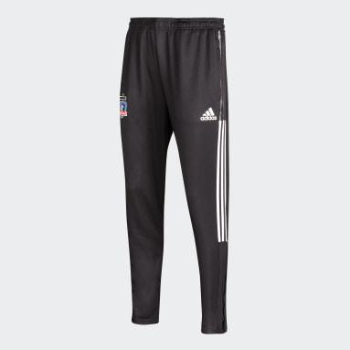 Pantalón de entrenamiento CLUB Colo-Colo Negro Hombre Fútbol