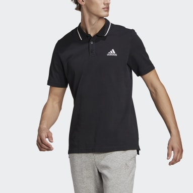 Men Sport Inspired AEROREADY Essentials Piqué Small Logo Polo Shirt