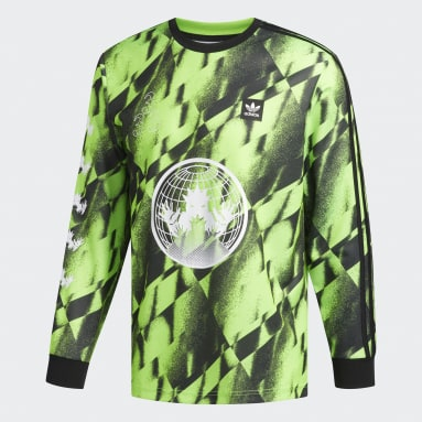 Men's Originals Green Allover Club Jersey