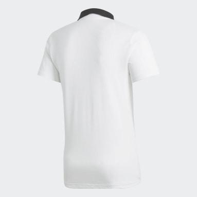 Polo Condivo 18 Cotton Blanco Hombre Fútbol