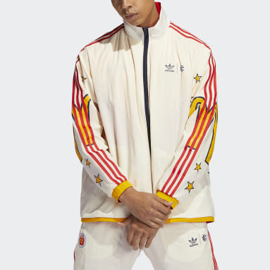 Men Originals White Reversible Track Top