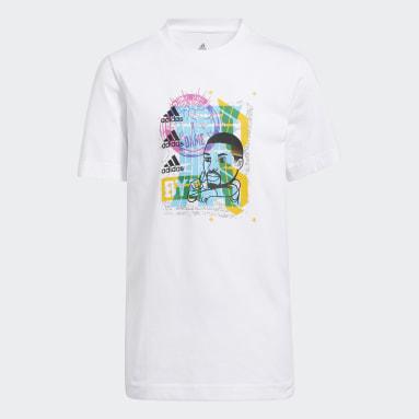 T-shirt Young Creators Damian Lillard Avatar Bianco Bambini Basket