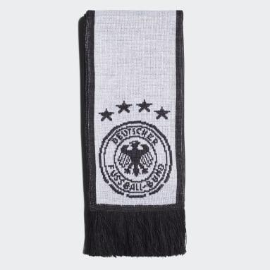 Écharpe de l'Allemagne Blanc Football