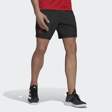 Men Tennis Black Tennis Primeblue Ergo 7-Inch Shorts