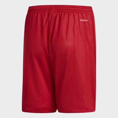 Youth 8-16 Years Gym & Training Red Parma 16 Shorts