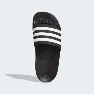 เด็ก ว่ายน้ำ สีดำ รองเท้าแตะ Adilette Shower