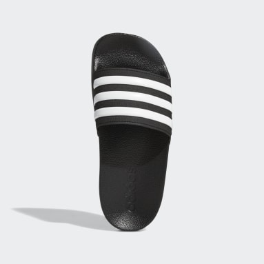 Kids Swimming Black Adilette Shower Slides
