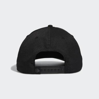 Men Golf Black Tour Snapback Hat
