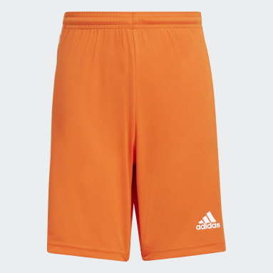 Short Squadra 21 Orange Garçons Football