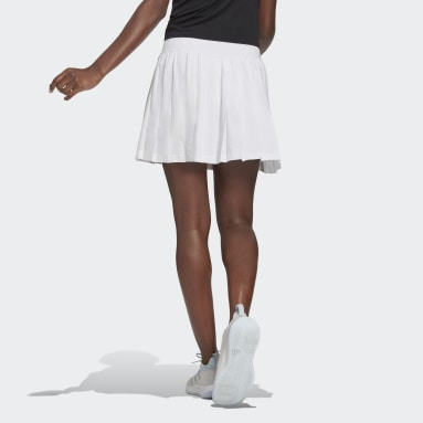 Falda Club Tennis Pleated Blanco Mujer Tenis
