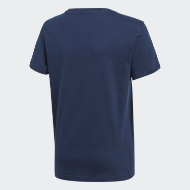 Kids Originals Blue Trefoil Tee