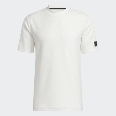 Men's Golf White Adicross Evolution Polo Shirt