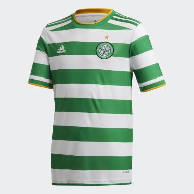 Kids Football White Celtic FC 20/21 Home Jersey