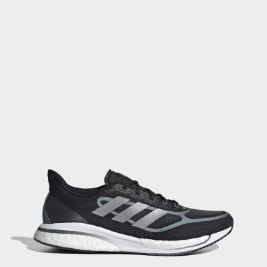 Men Running Black Supernova+ Shoes