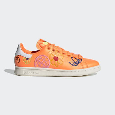 Scarpe Stan Smith Arancione Donna Originals