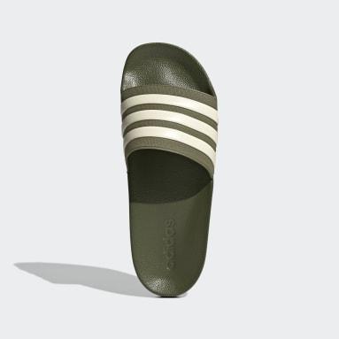 Men's Yoga Green Adilette Shower Slides